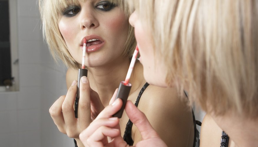 Play up your pout with the right makeup.