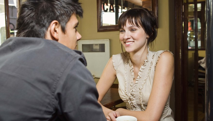 Plan dates that provide opportunities for conversation to connect with your partner.