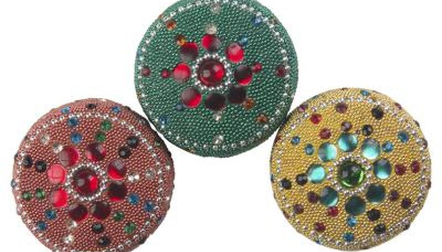 The pin back is as important to a brooch as the decoration on the front.