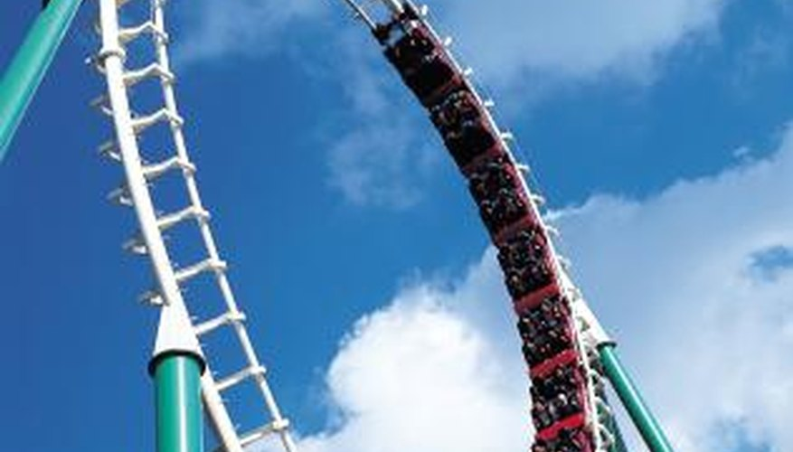 There are some disadvantages to steel roller coasters.