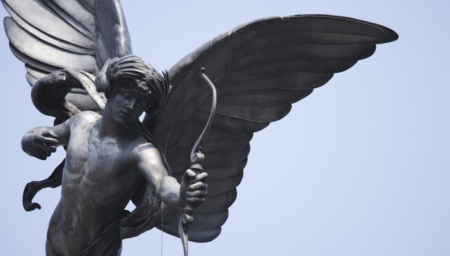 Angels in early Christian symbolism did not have wings or shoot arrows, and had a different meaning that they do to many people today.