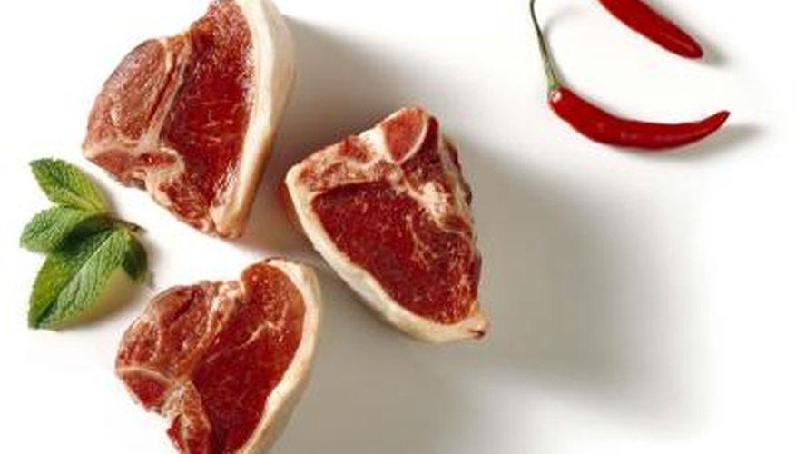 Lamb shoulder is sometimes cut into shoulder chops for individual servings.