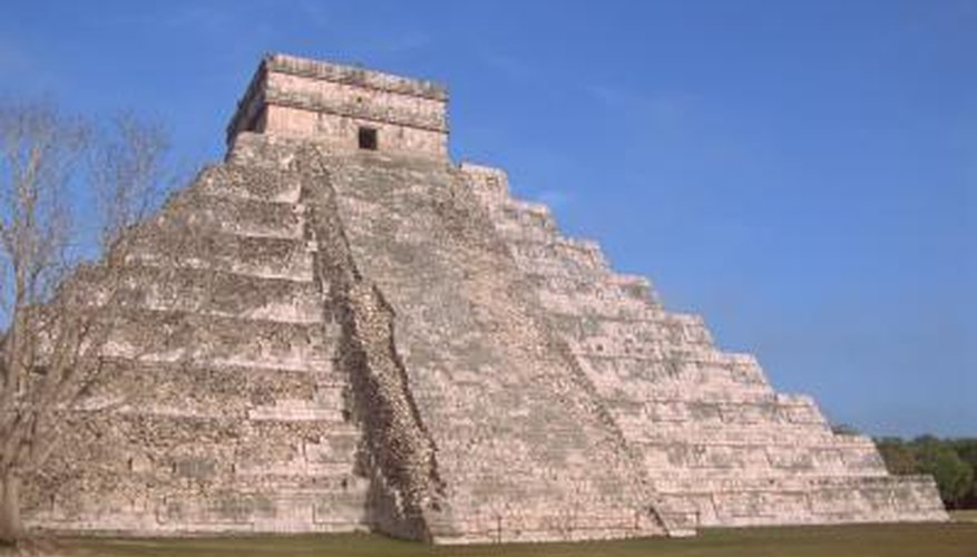 Mayan women performed religious duties in temples such as Chichen Itza.