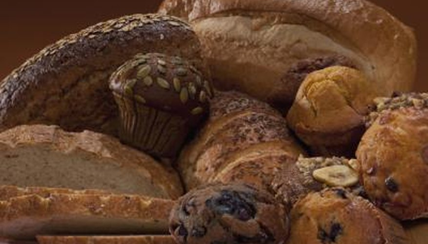A variety of breads can be used as an offering for Santisima Muerte.