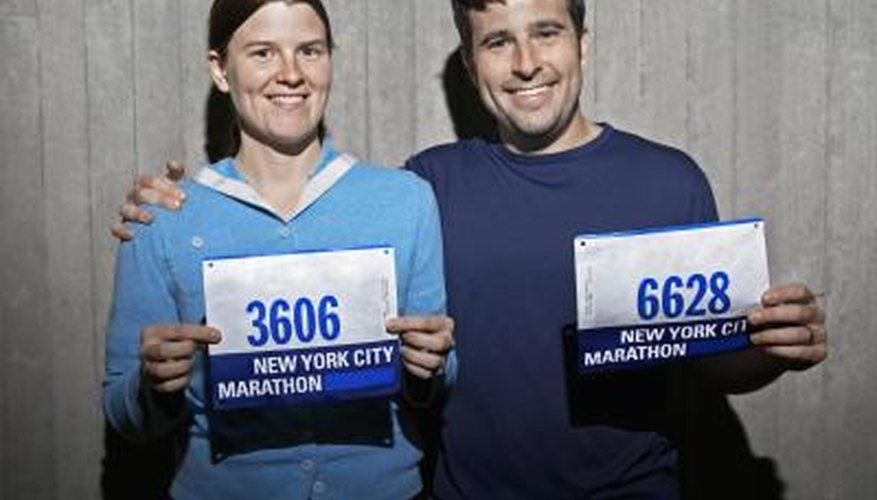 Create your own race numbers.