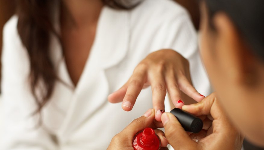 Skip the salon and do your nails yourself.