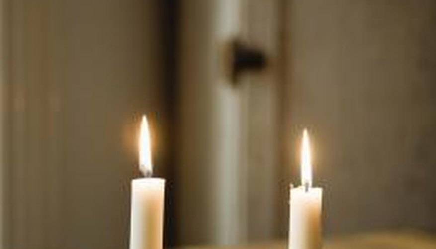 Melted candle wax needn't diminish the look of your cast iron any longer.
