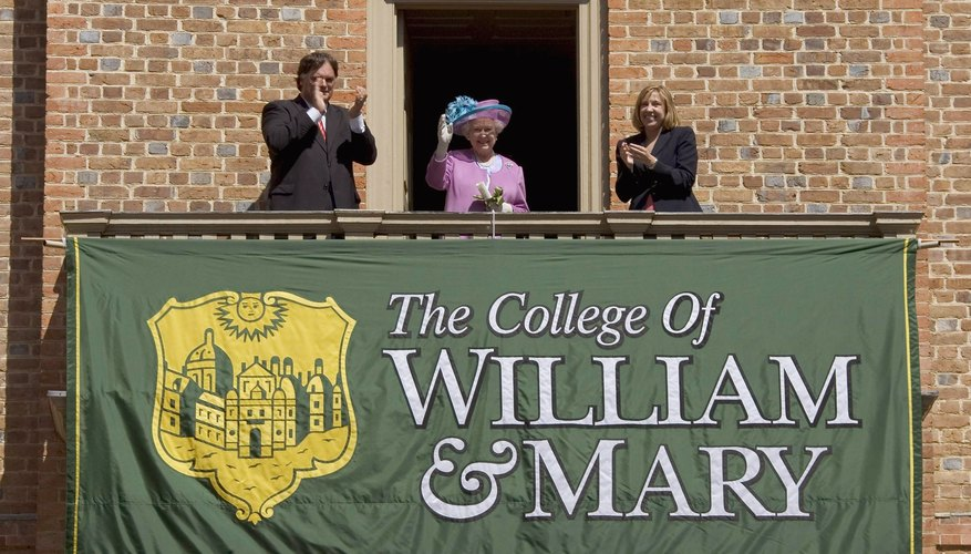 The College of William & Mary is one of the country's oldest universities.
