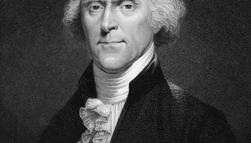 Thomas Jefferson was one of the early advocates of states' rights and nullification.