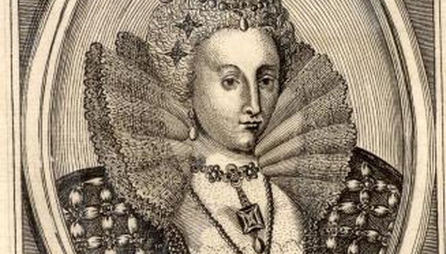 Funerals in the reign of Queen Elizabeth were public affairs.