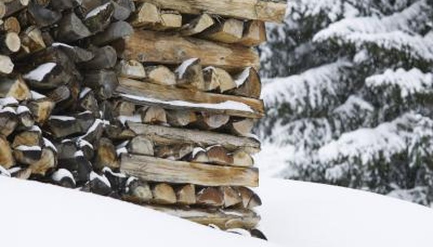 Let firewood dry and cure in an open area to prevent mould growth.