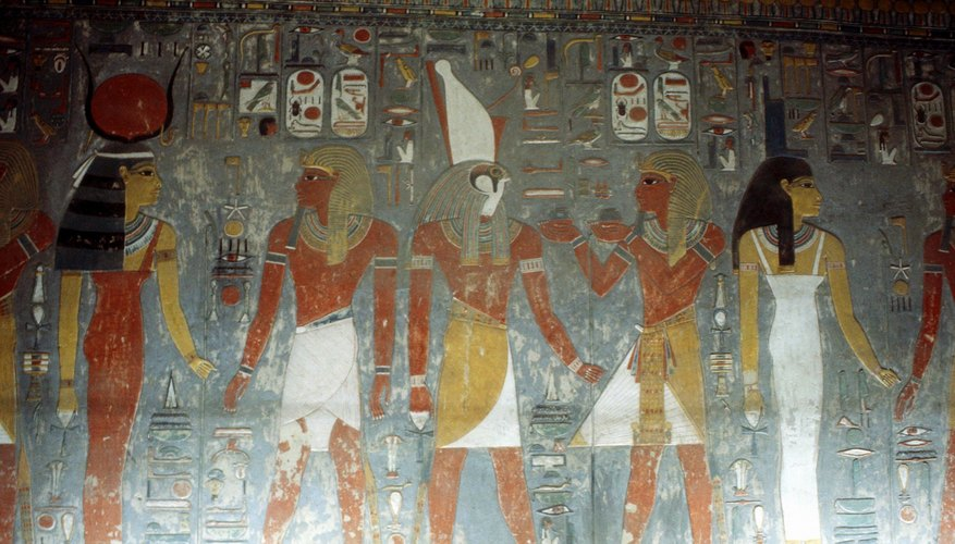 Paintings are valuable resources for understanding ancient Egyptian culture.