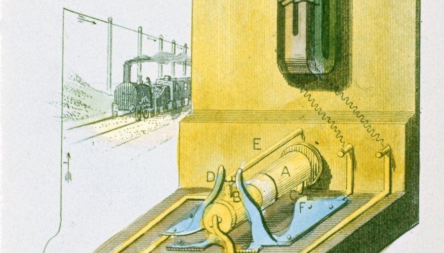 Marconi revolutionized modern communications by sending telegraphs wirelessly.