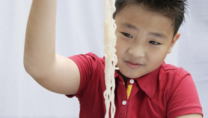 Long noodles are an auspicious harbinger of long life in Chinese tradition.