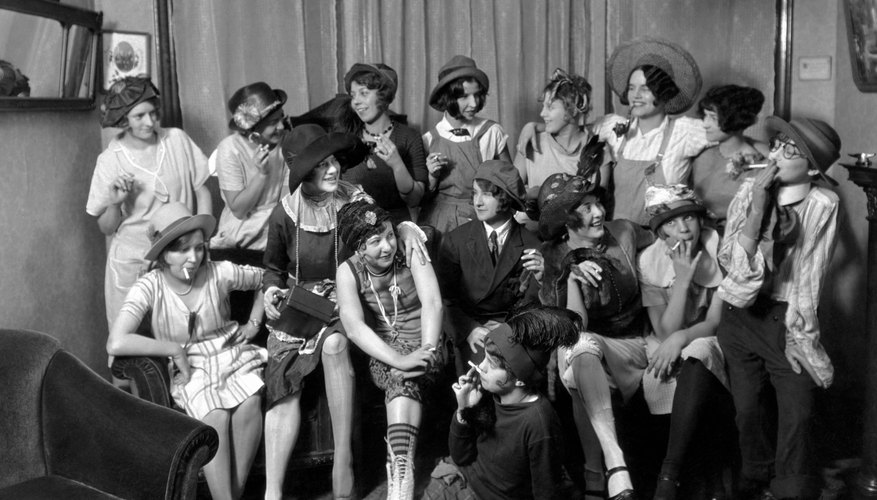 Flappers became synonymous with speakeasies and symbols of social change among younger Americans in the '20s.