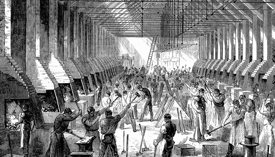 The Industrial Revolution created distinct inequalities between the social classes.