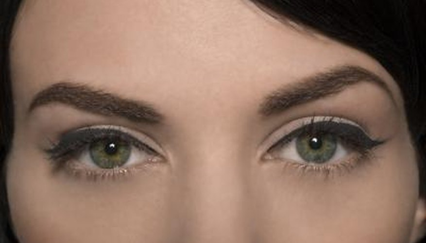 Fake beautiful brows if they become messed up.