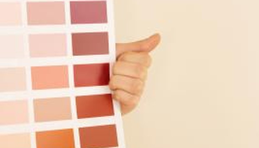 You can tint varnish in any colour you choose.