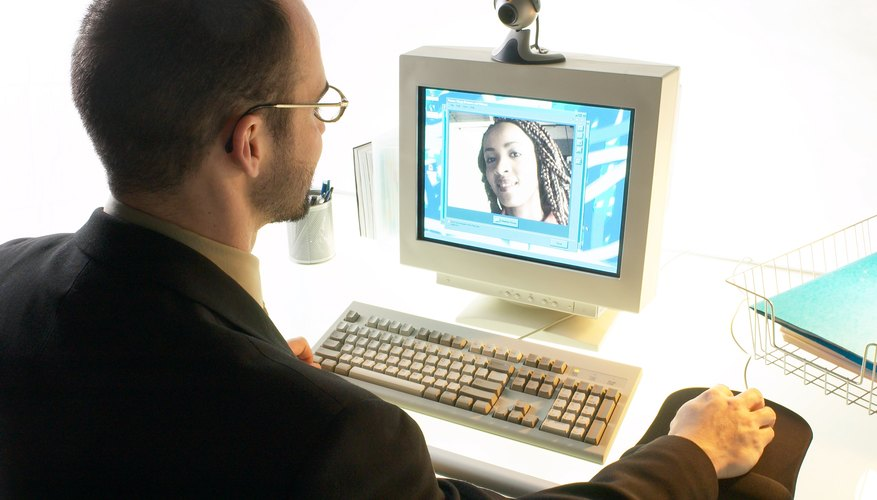 Try video chatting to personalize your long-distance communication.