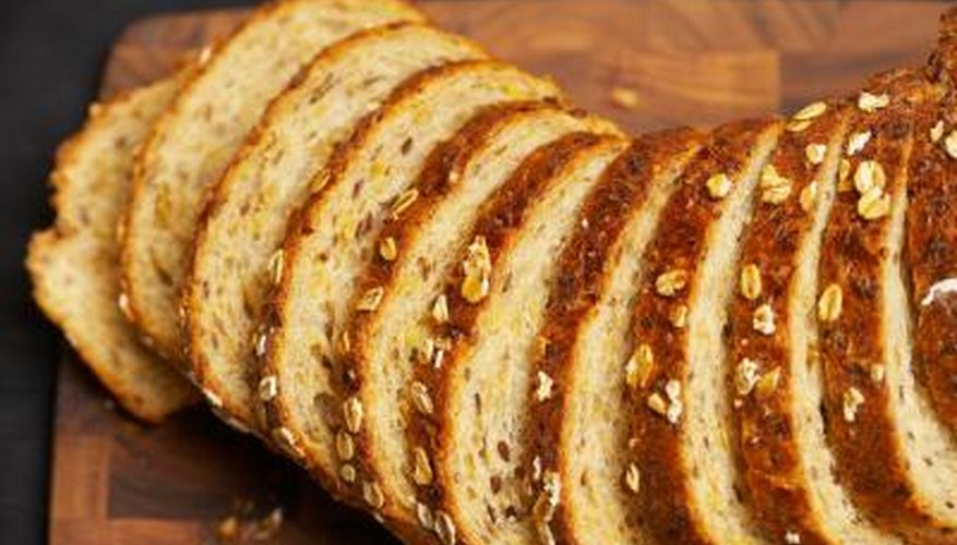 Bread flour produces a denser and heartier bread compared with all-purpose flour.