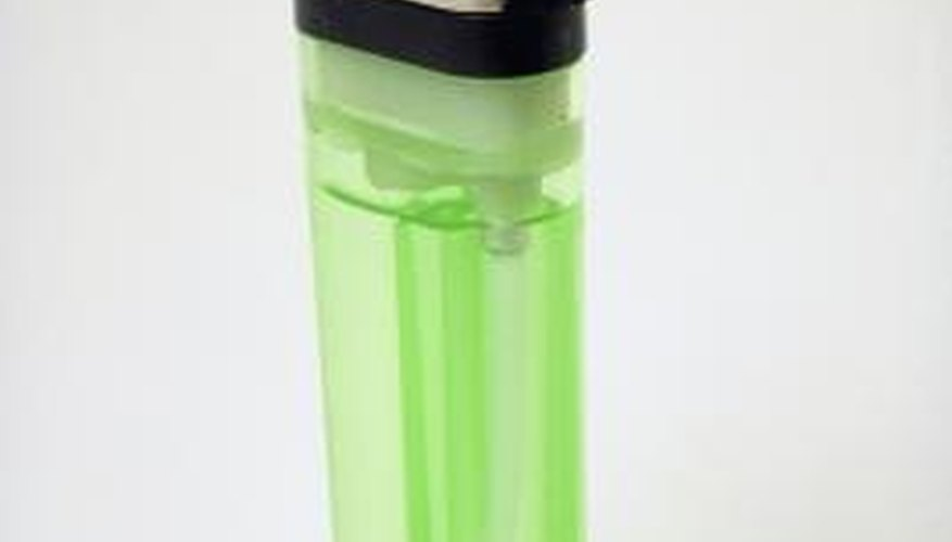 Many lighters have a switch to adjust the size of the flame.