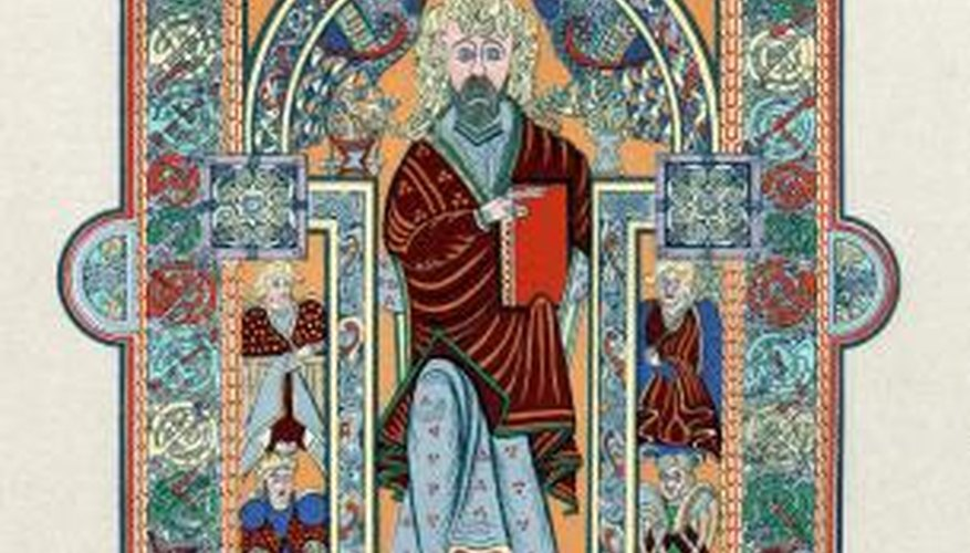 St. Matthew was the author of the first of the four Gospels.