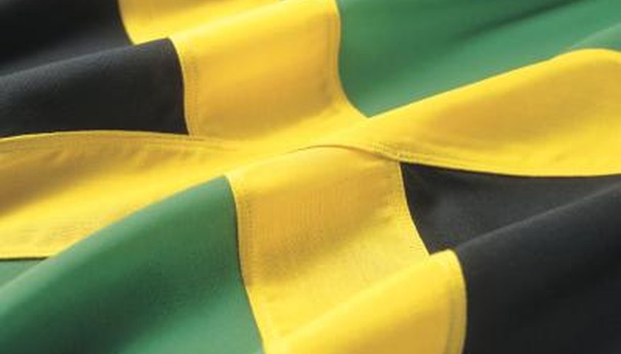 The Jamaican flag is a symbol of the country where Jamaican men originate.