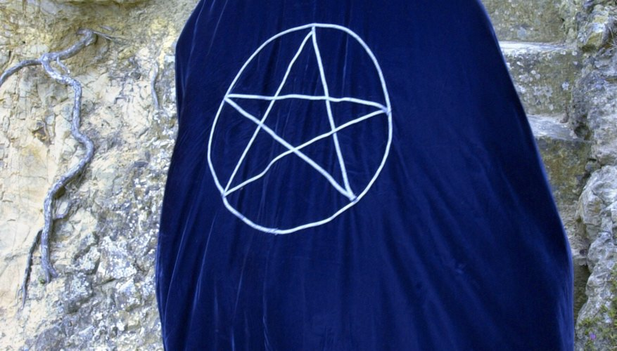 Modern-day Wiccans often wear the pentagram on clothing and jewelry.