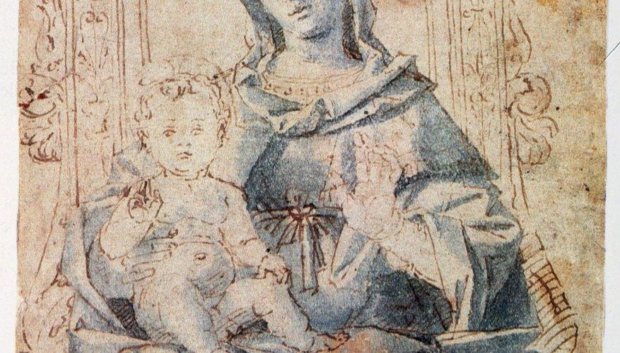 Byzantine women wore traditional veils.