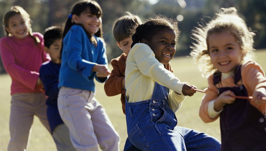 Simple games help children to understand what it feels like to be discriminated against.