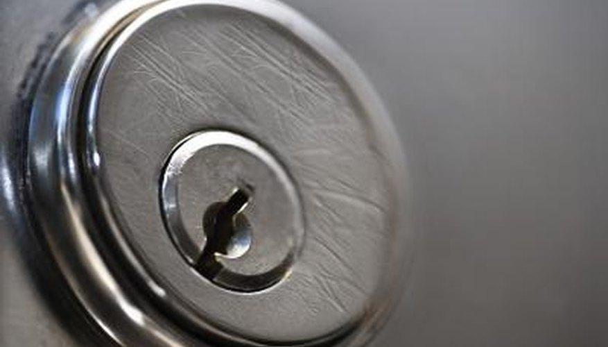 A key won't turn a lock if it is bent