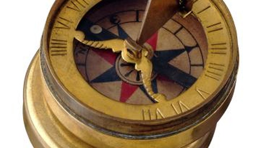 People have relied on sundial compasses for hundreds of years.