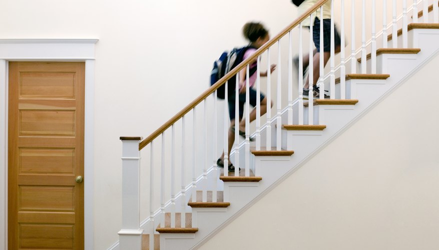 Fix the stair runner to prevent accidents.