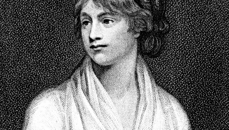 Mary Shelley was the author of Romantic-era