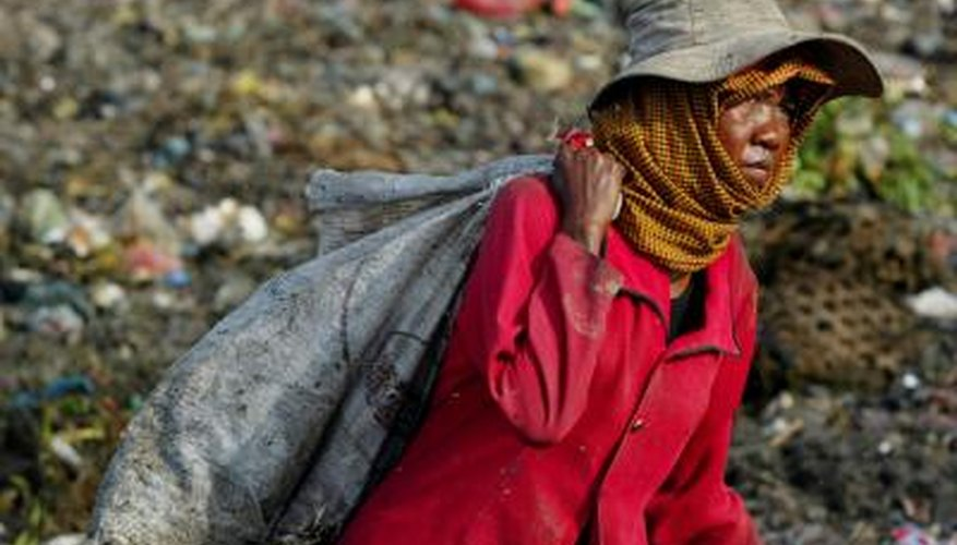 Cambodians wear headscarves to protect them from the elements.