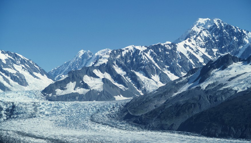 Ice ages have been the result of natural climate changes.