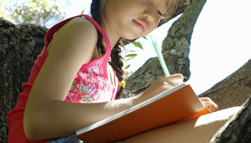 Taking your class outside to write can help stir creativity.