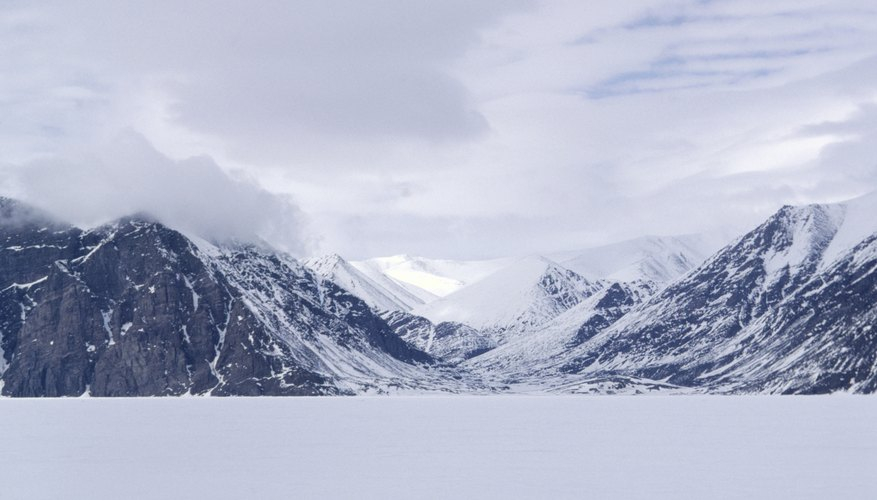 The landscape of Northern Canada