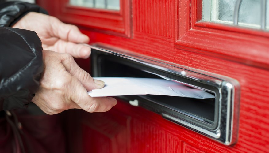 Send a letter via registered mail to track its delivery.