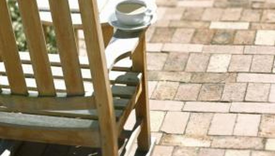 Raised patios provide ideal construction methods for both steep and gently sloping landscapes.