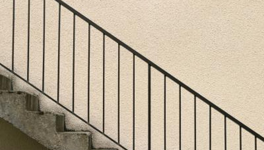 Both open and closed stairwells can be attractive.