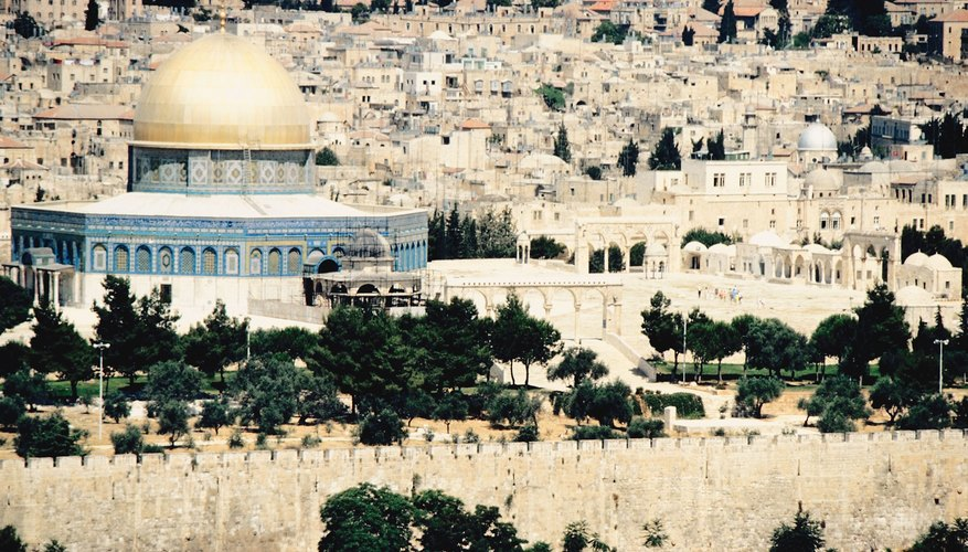 The Temple Mount in Jerusalem is sacred to both Jews and Muslims.