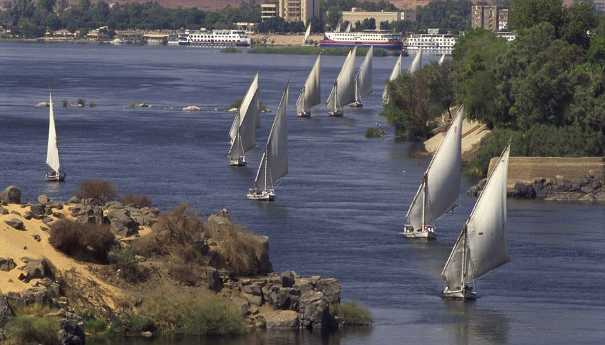 Regarding agriculture, commerce and transportation, Egypt's unification centered on the Nile River.