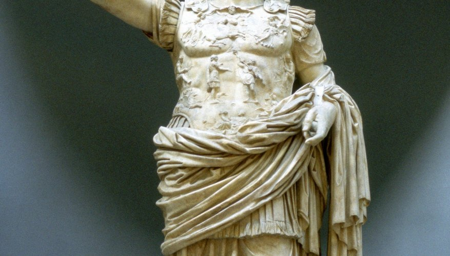 Emperor Augustus ushered in the Pax Romana and helped spread Roman culture.