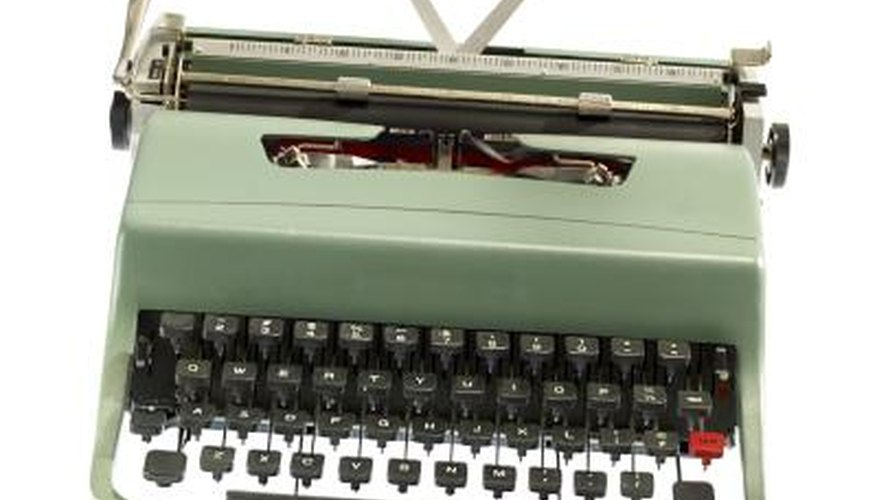 Choose MS Word over that rickety old typewriter.