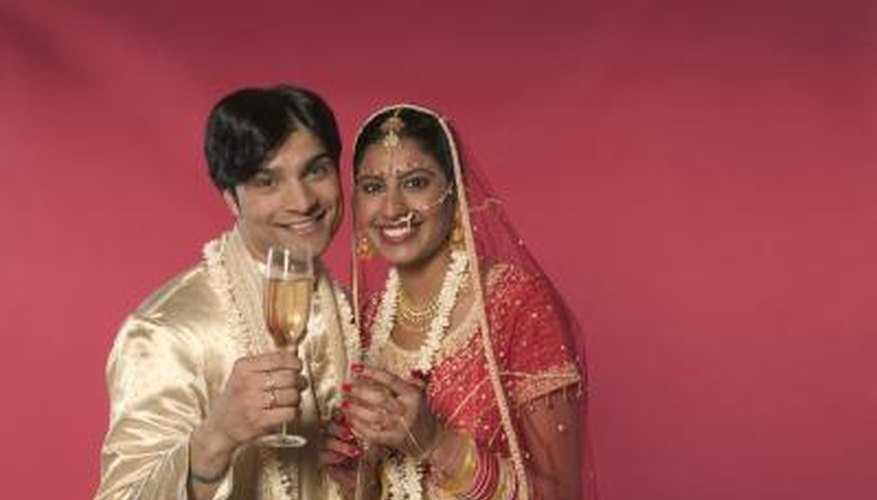 Give your friends a traditional Hindu gift and surprise them on their wedding day.