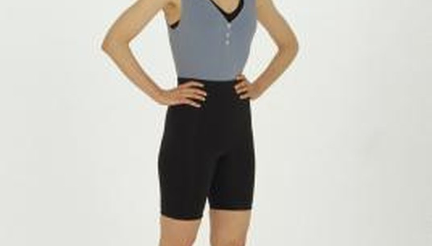 Exercising in clothing made from 100 per cent spandex quickly becomes uncomfortable.