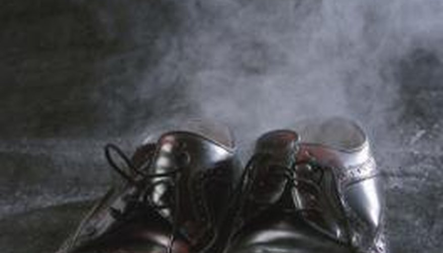 Funky shoe odour can stink up an entire closet or room.
