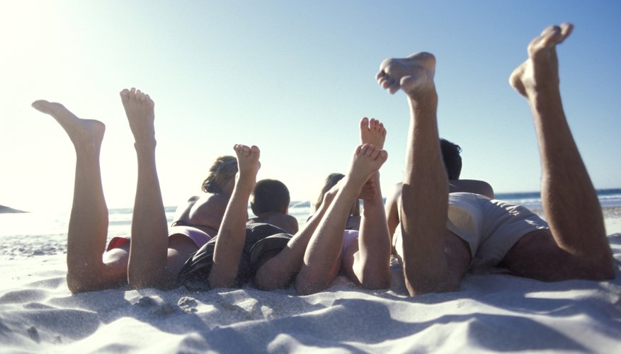A sunny day at the beach may cause your iPhone to overheat.