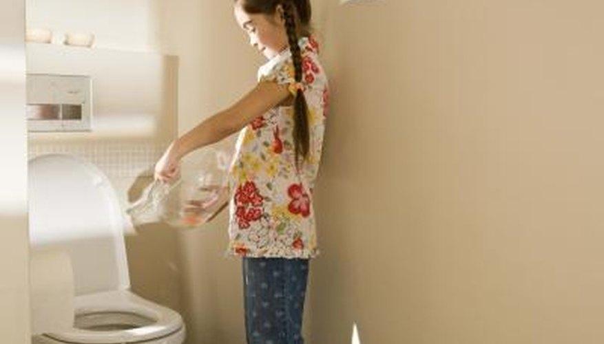 Do not flush dead fish down the toilet.